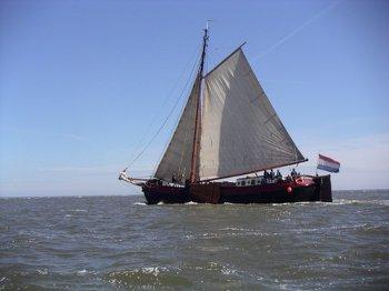 Aussenansicht vom Gruppenhaus 03103167 Plattbodensegler Boreas in Niederlande NL-8861 HARLINGEN für Gruppenfreizeiten