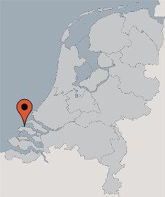 Karte von der Gruppenunterkunft 03313079 Gruppenhaus BOTERBLOEM in Dänemark NL-4323 ELLEMEET für Kinderfreizeiten