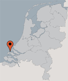 Karte von der Gruppenunterkunft 03313080 Gruppenhaus MEIDOORN in Dänemark 4323 Ellemeet für Kinderfreizeiten