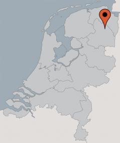Karte von der Gruppenunterkunft 03313834 Gruppenhaus WENNAKER in Dänemark 9514 GASSELTERNIJVEEN für Kinderfreizeiten