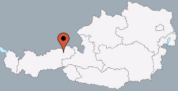 Karte von der Gruppenunterkunft 03433005 Gruppenhaus WESTENDORF in Dänemark A-6363 WESTENDORF für Kinderfreizeiten