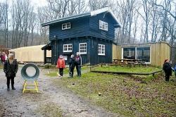 Weitere Aussenansicht vom Gruppenhaus 03453010 Gruppenhaus TOLV EGE in Dänemark 3630 JAEGERSPRIS für Gruppenreisen
