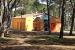 1. Sanitär ZEBU-Dorf Süd-Frankreich
