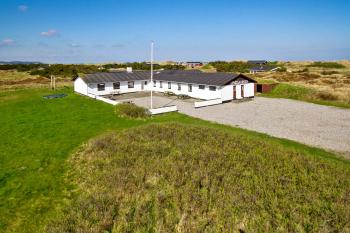 Aussenansicht vom Gruppenhaus 03453046 Gruppenhaus LYNGGÅRDEN in Dänemark 9460 Brovst für Gruppenfreizeiten
