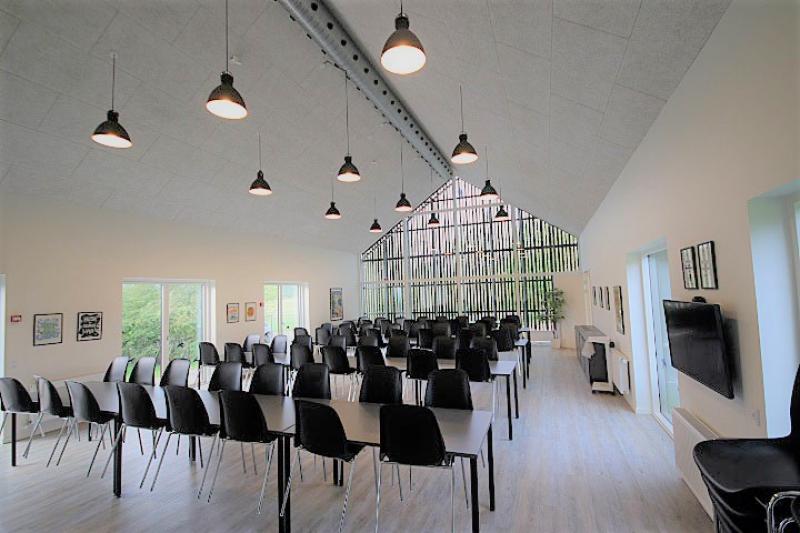 Aussenansicht von der Gruppenunterkunft 03453059 Gruppenhaus NALDTANGLEJREN in Dänemark 6200 Aabenraa für Jugendfreizeiten