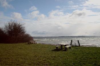 Bilder von Bademöglichkeiten vom Ferienhaus für Gruppen 03453059 Naldtanglejren in Dänemark 6200 Aabenraa für Jugendfreizeiten