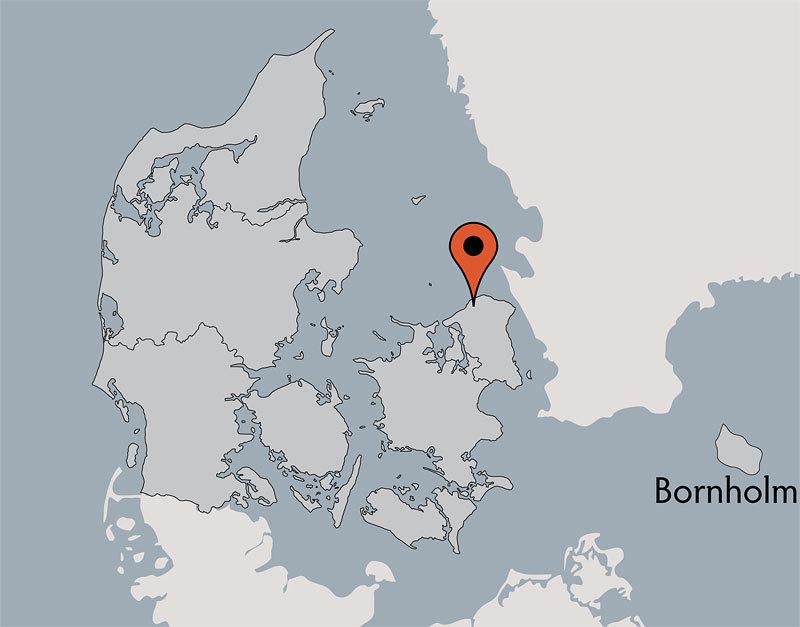 Karte von der Gruppenunterkunft 03453061 GRIBSKOV Efterskole in Dänemark 3210 Vejby für Kinderfreizeiten
