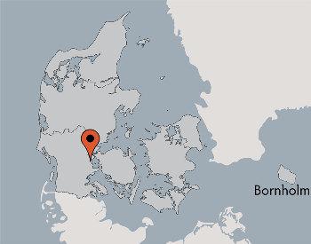 Karte von der Gruppenunterkunft 03453108 Gruppenhaus PLETTEN in Dänemark 6094 Hejls für Kinderfreizeiten