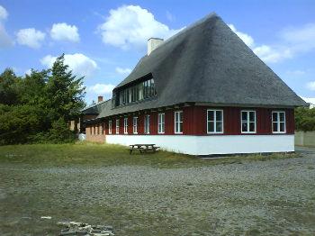 Aussenansicht vom Gruppenhaus 03453114 Gruppenhaus FIRBJERGSANDE in Dänemark 7600 Struer für Gruppenfreizeiten