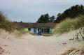 Aussenansicht vom Gruppenhaus 03453122 Gruppenhaus SOLSBÆKHYTTEN in Dänemark 9300 Saeby für Gruppenfreizeiten