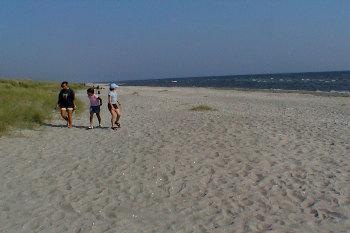 Bilder von Bademöglichkeiten vom Ferienhaus für Gruppen 03453127 HVIDE KLIT in Dänemark 9300 Saeby für Jugendfreizeiten