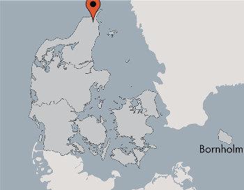 Karte von der Gruppenunterkunft 03453160 Gruppenhaus KONGEBAKKEN in Dänemark 9870 Sindal für Kinderfreizeiten