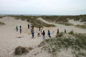 Bilder von Bademöglichkeiten vom Ferienhaus für Gruppen 03453175 Gruppenunterkunft KLITTEN in Dänemark 9300 Saeby für Jugendfreizeiten