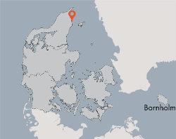 Aussenansicht vom Gruppenhaus 03453175 Gruppenunterkunft KLITTEN in Dänemark 9300 Saeby für Gruppenfreizeiten