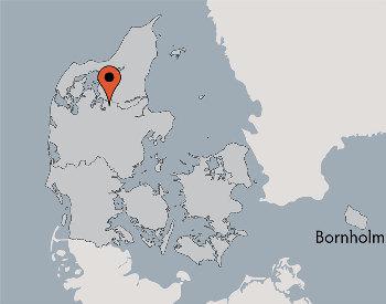 Karte von der Gruppenunterkunft 03453182 SKALS EFTERSKOLE in Dänemark 8832 Skals für Kinderfreizeiten