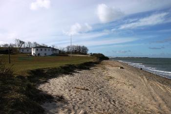 Bilder von Bademöglichkeiten vom Ferienhaus für Gruppen 03453315 Gruppenhaus HUMLUM LEJREN in Dänemark 7600 Struer für Jugendfreizeiten