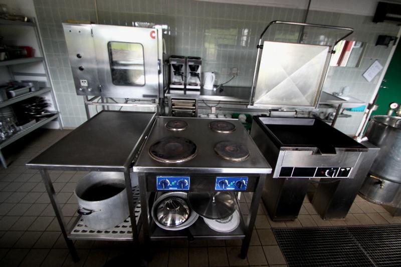 Küche von der Gruppenunterkunft 03453403 Gruppenhaus TONNESHØJ in Dänemark 6100 Haderslev für Jugendfreizeiten