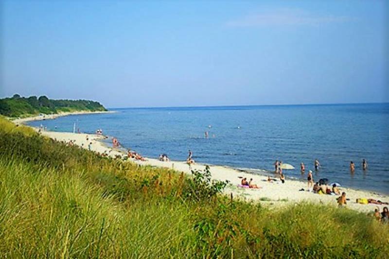 Bademöglichkeit von der Gruppenunterkunft 03453424 Gruppenhaus JARLSGÅRD in Dänemark 3720 Aakirkeby für Jugendfreizeiten