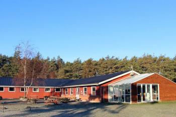 Aussenansicht vom Gruppenhaus 03453431 Ferienhaus KOLDKÆR in Dänemark 9370 Hals für Gruppenfreizeiten
