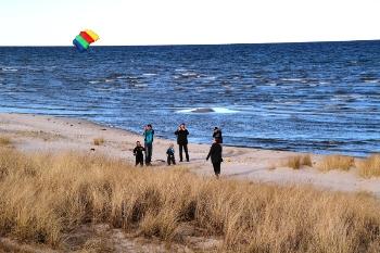 Bilder von Bademöglichkeiten vom Ferienhaus für Gruppen 03453431 Ferienhaus KOLDKÆR in Dänemark 9370 Hals für Jugendfreizeiten