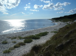 Nächste Bademöglichkeit vom Gruppenhaus 03453458 Gruppenhaus LM-LEJREN in Dänemark DK-3720 AAKIRKEBY für Kinderfreizeiten