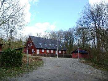 Aussenansicht vom Gruppenhaus 03453703 Gruppenhaus MØNTERVANG in Dänemark 6200 Aabenraa für Gruppenfreizeiten