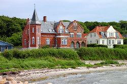 Weitere Aussenansicht vom Gruppenhaus 03453830 KLK-Gruppenhaus - STRANDLYST in Dänemark 5953 Tranekaer für Gruppenreisen