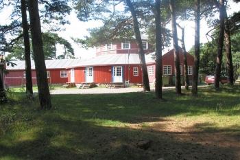 Aussenansicht vom Gruppenhaus 03453814 Gruppenhaus Egilsholm in Dänemark 3720 Svaneke für Gruppenfreizeiten