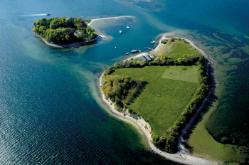 Aussenansicht vom Gruppenhaus 03453822 KLK-Gruppenhaus -  LILLE OKSEØ in Dänemark 6340 Krusaa für Gruppenfreizeiten