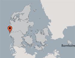 Aussenansicht vom Gruppenhaus 03453824 Ehem. KLK-Gruppenhaus HENNE-Bad in Dänemark 6854 Henne für Gruppenfreizeiten