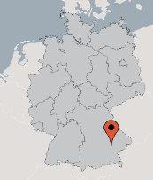 Aussenansicht vom Gruppenhaus 03493000 Gruppenhaus VELDEN in Deutschland 84149 Velden/Vils für Gruppenfreizeiten