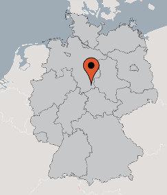 Karte von der Gruppenunterkunft 03493166 Gruppenhaus BAD GRUND in Dänemark 37539 Bad Grund für Kinderfreizeiten