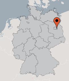 Karte von der Gruppenunterkunft 03493352 Gruppenhaus JUGENDDORF BERLIN in Dänemark D-12589 BERLIN für Kinderfreizeiten