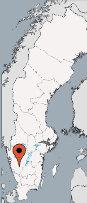 Aussenansicht vom Gruppenhaus 04464011 Gruppenhaus BORAS in Schweden S-51391 Fristad für Gruppenfreizeiten