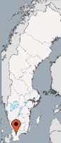 Aussenansicht vom Gruppenhaus 04464070 Gruppenhaus HALLASKOG in Schweden 24392 Skåne-Höör für Gruppenfreizeiten