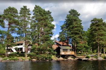 Aussenansicht vom Gruppenhaus 04464072 Freizeitanlage HJORTSBERGAGARDEN  in Schweden 34293 Hjortsberga für Gruppenfreizeiten