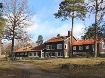 Aussenansicht vom Gruppenhaus 04464072 HJORTSBERGAGARDEN FREIZEITANLAGE in Schweden S34293 HJORTSBERGA für Gruppenfreizeiten