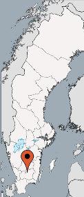 Karte von der Gruppenunterkunft 04464072 HJORTSBERGAGARDEN FREIZEITANLAGE in Dänemark S34293 HJORTSBERGA für Kinderfreizeiten