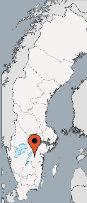 Aussenansicht vom Gruppenhaus 04464170 Gruppenhaus RENGEN in Schweden S-59059 Sturefors für Gruppenfreizeiten