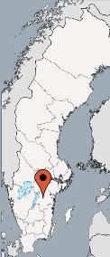 Karte von der Gruppenunterkunft 04464170 Gruppenhaus RENGEN in Dänemark S-59059 STUREFORS für Kinderfreizeiten