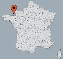 Aussenansicht vom Gruppenhaus 05335209 Gruppenhaus LE PONT PRIN in Frankreich F-35350 St. Meloir des Ondes für Gruppenfreizeiten