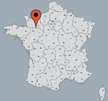 Aussenansicht vom Gruppenhaus 05335215 Gruppenhaus  ALTE MÜHLE ARRONDEAU in Frankreich F-53140 St Calais du Désert für Gruppenfreizeiten