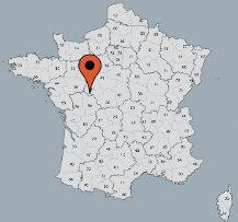 Aussenansicht vom Gruppenhaus 05335216 Gruppenhaus LUZÉ in Frankreich F-37120 Luzé für Gruppenfreizeiten