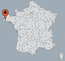 Aussenansicht vom Gruppenhaus 05335217 Zeltcamp CLEUT ROUZ FOUESNANT in Frankreich F-29170 Fouesnant für Gruppenfreizeiten