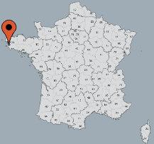 Aussenansicht vom Gruppenhaus 05335231 Gruppenhaus POULLAN SUR MER in Frankreich F-29100 Poullan sur Mer für Gruppenfreizeiten