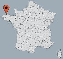 Aussenansicht vom Gruppenhaus 05335245 Gruppenhaus MORLAIX in Frankreich F-29600 Morlaix für Gruppenfreizeiten