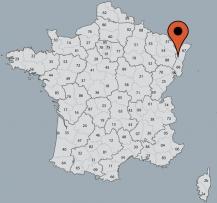 Aussenansicht vom Gruppenhaus 05335300 Gruppenhaus BELLE VUE in Frankreich F-88490 Combrimont für Gruppenfreizeiten