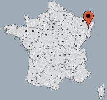 Aussenansicht vom Gruppenhaus 05335301 Gruppenunterkunft COMBRIMONT II-LE BERCAIL in Frankreich F-88490 Combrimont für Gruppenfreizeiten