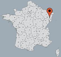 Aussenansicht vom Gruppenhaus 05335302 Gruppenhaus CENTRE DE VACANCES in Frankreich F-68140 Les Sources Stosswihr für Gruppenfreizeiten