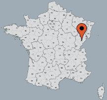 Aussenansicht vom Gruppenhaus 05335312 Kanu Camp VUILLAFANS in Frankreich F-25840 Vuillafans für Gruppenfreizeiten